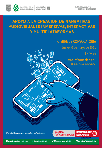 Convocatoria Narrativas Audiovisuales Procine