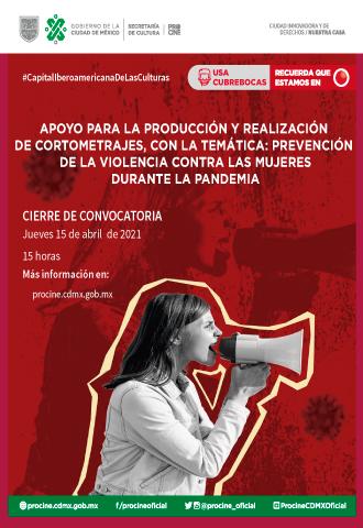 Convocatoria Prevención violencia contra las mujeres