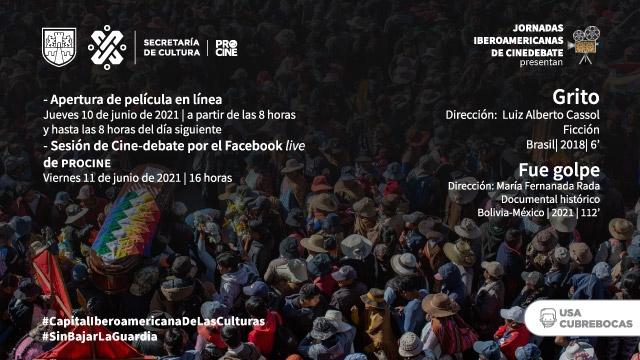 Doble función de cine iberoamericano en las Jornadas Iberoamericanas de Cinedebate